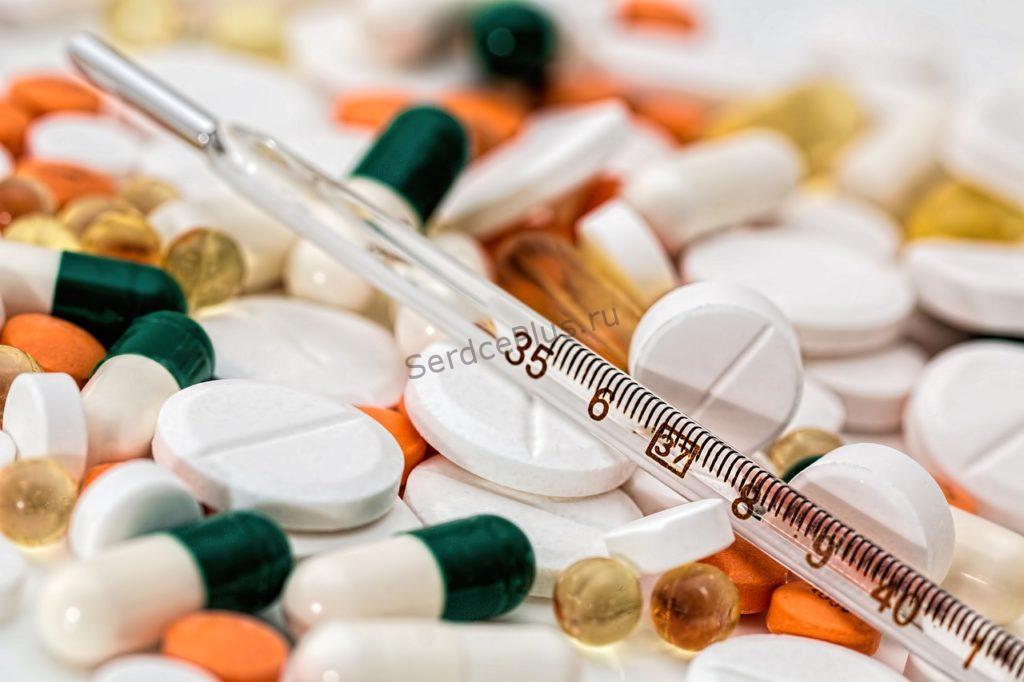 Прием сердечных препаратов в зависимости от приема пищи